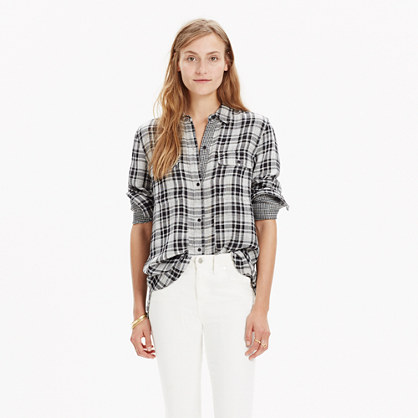 Ex-Boyfriend Shirt in Kemp Plaid