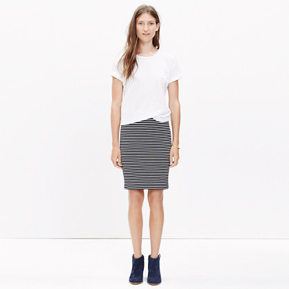City Skirt in Stripe