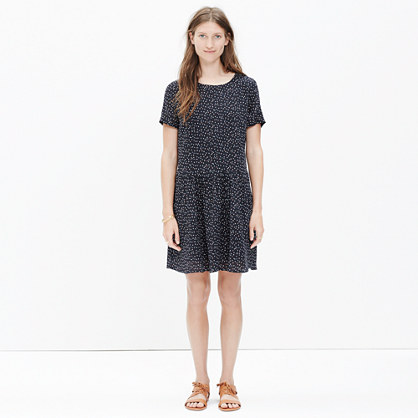 Madewell et Sézane® Silk Mini Dress