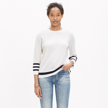 Striped Mapbook Sweater