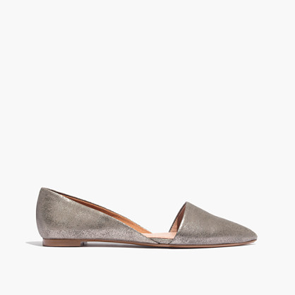 The Lydia Flat in Metallic