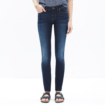 "8"" Skinny Jeans in Lakeshore Wash"