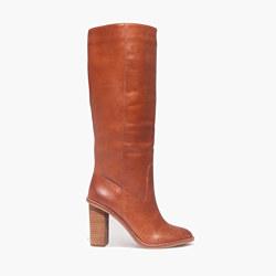The Tali Boot in English Saddle