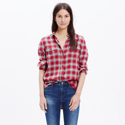 Ex-Boyfriend Shirt in Fairfax Plaid