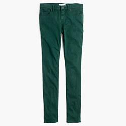 "8"" Skinny Sateen Jeans"