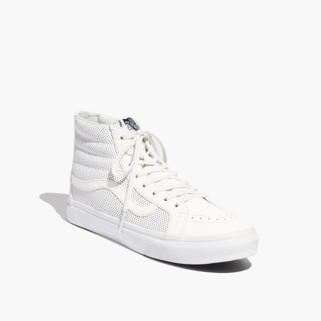 Vanssk8 Zip - High-top Dei Formatori - True White NajXDW