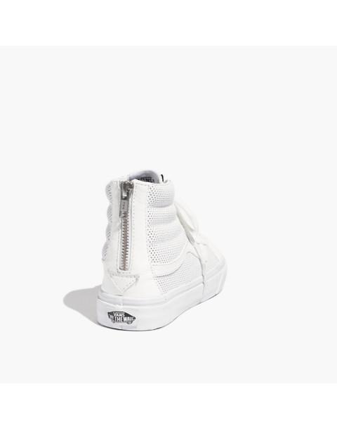 Vans® SK8-Hi Slim Zip High-Top Sneakers in Perforated Leather 7c1f287f3