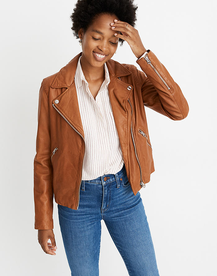 the best good texture elegant and graceful Leather Jackets : Women's Jackets | Madewell