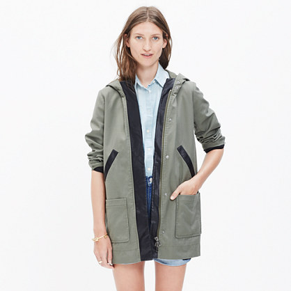 Madewell et Sézane® Beckett Hooded Jacket