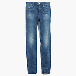 "9"" High-Rise Skinny Jeans in Dayton Wash"