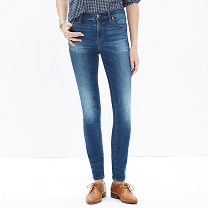 """9"""" High-Rise Skinny Jeans in Dayton Wash"""