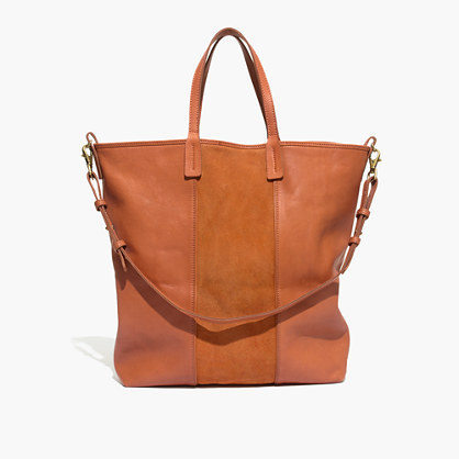 Madewell et Sézane® Leather Tote