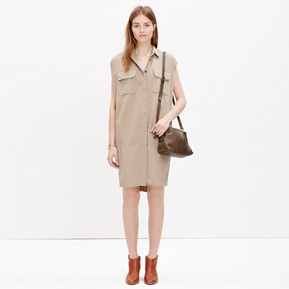 Sleeveless Cargo Dress