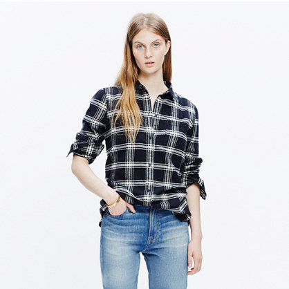Flannel Ex-Boyfriend Shirt in Rutherford Plaid