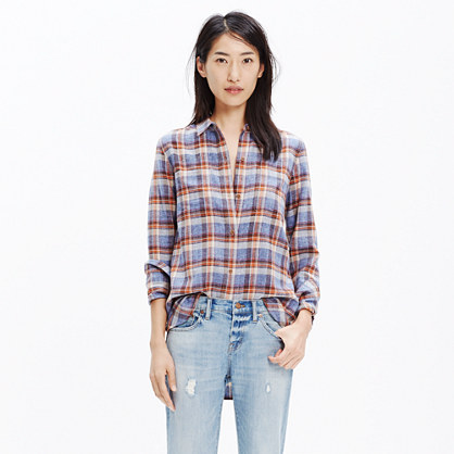 Ex-Boyfriend Shirt in Gardner Plaid