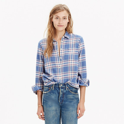 Rivet & Thread Flannel Shirt in Hanna Plaid