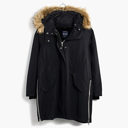 Side-Zip Field Parka