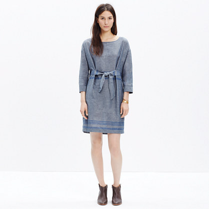 Tie-Front Dolman Dress