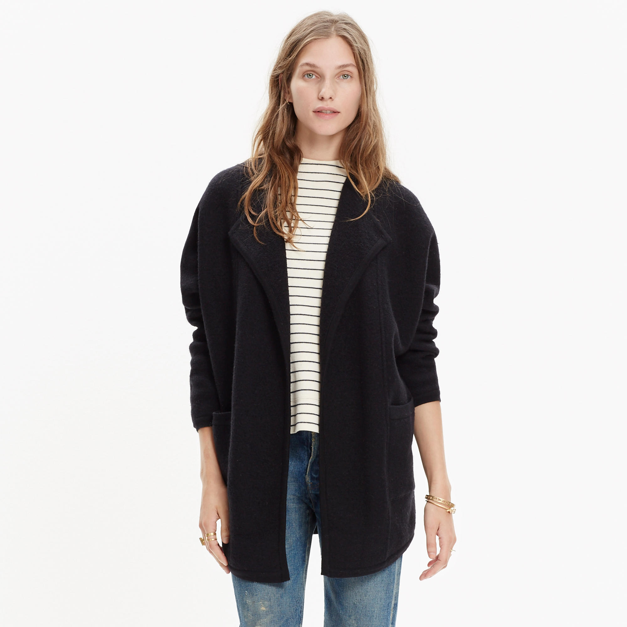 Oversized Sweater-Jacket : cardigans & sweater-jackets | Madewell