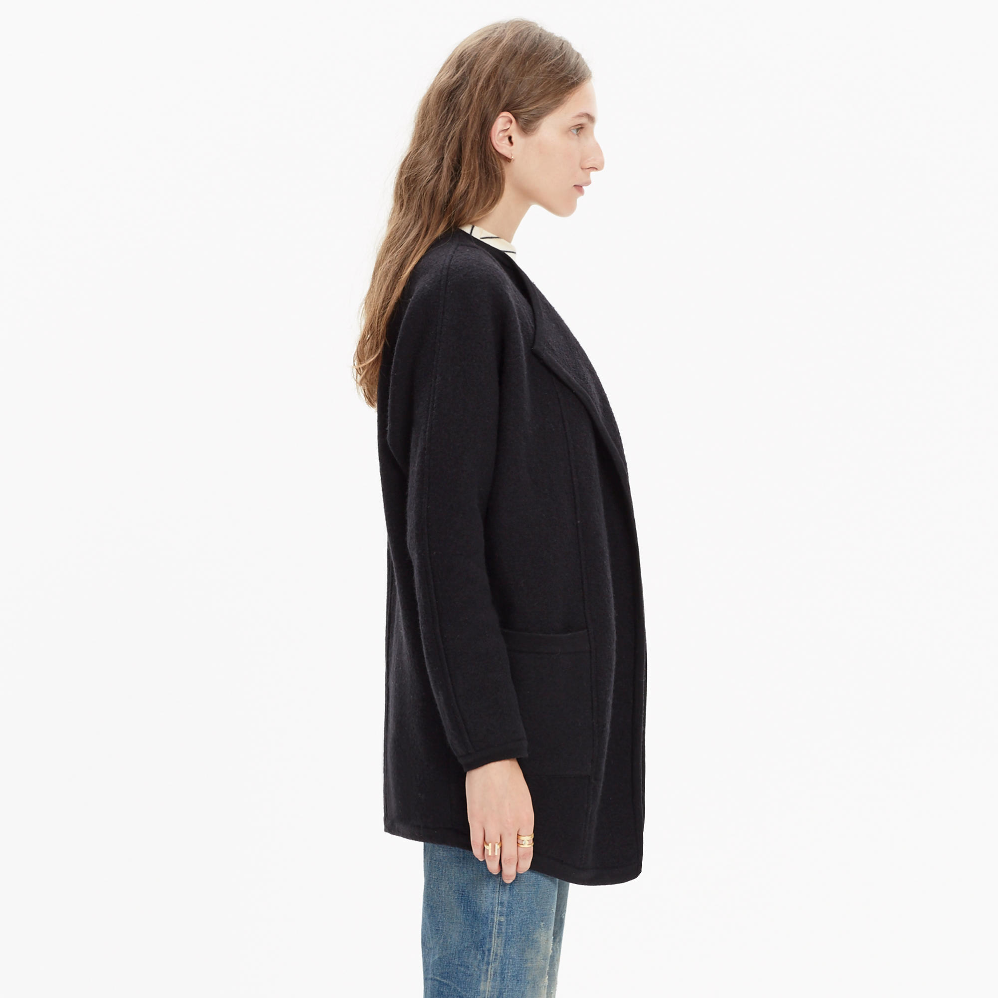 Oversized Sweater-Jacket : cardigans & sweater-jackets | Madewell
