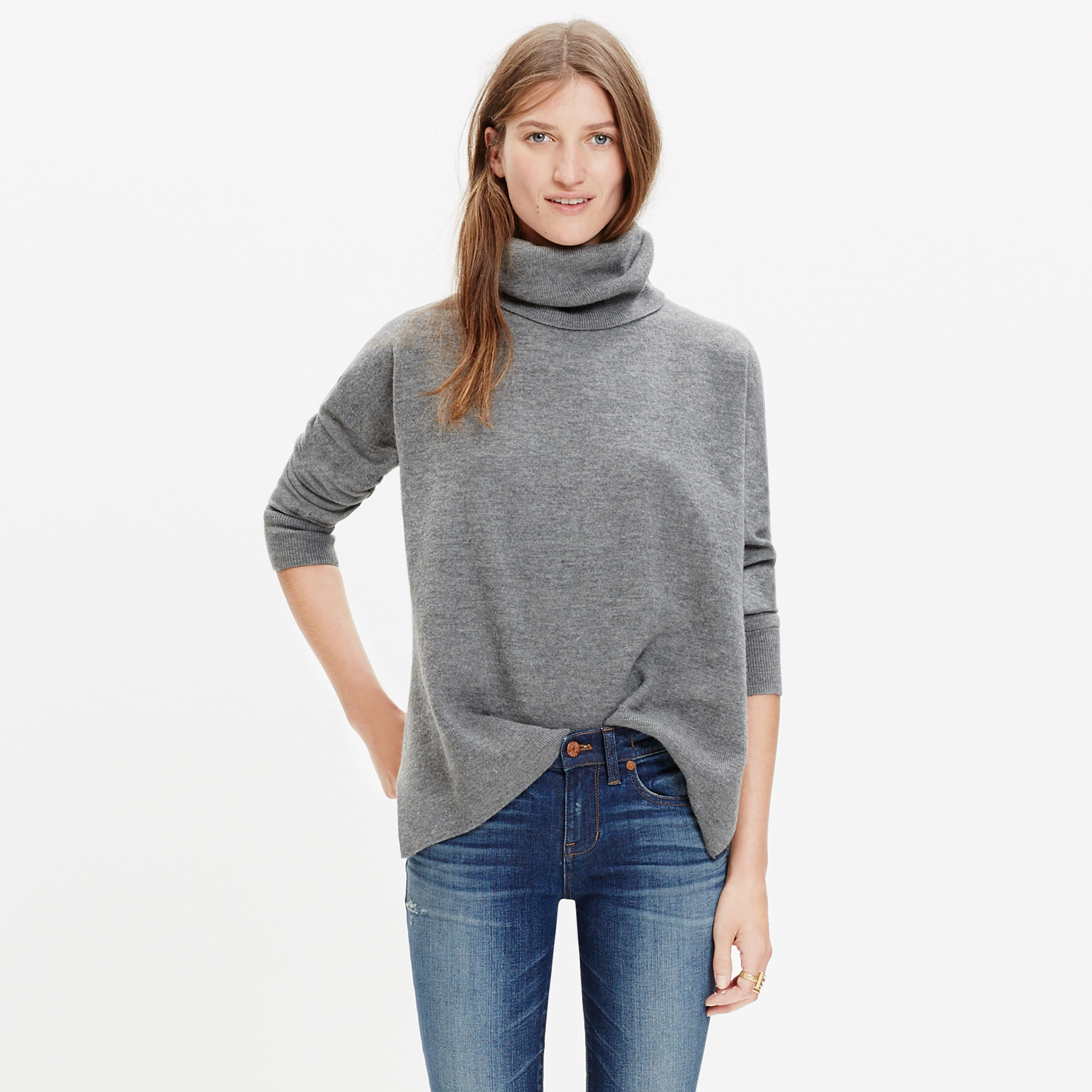 Merino Turtleneck Sweater : turtlenecks | Madewell