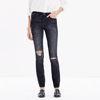"9"" High-Rise Skinny Jeans in Kincaid Wash"