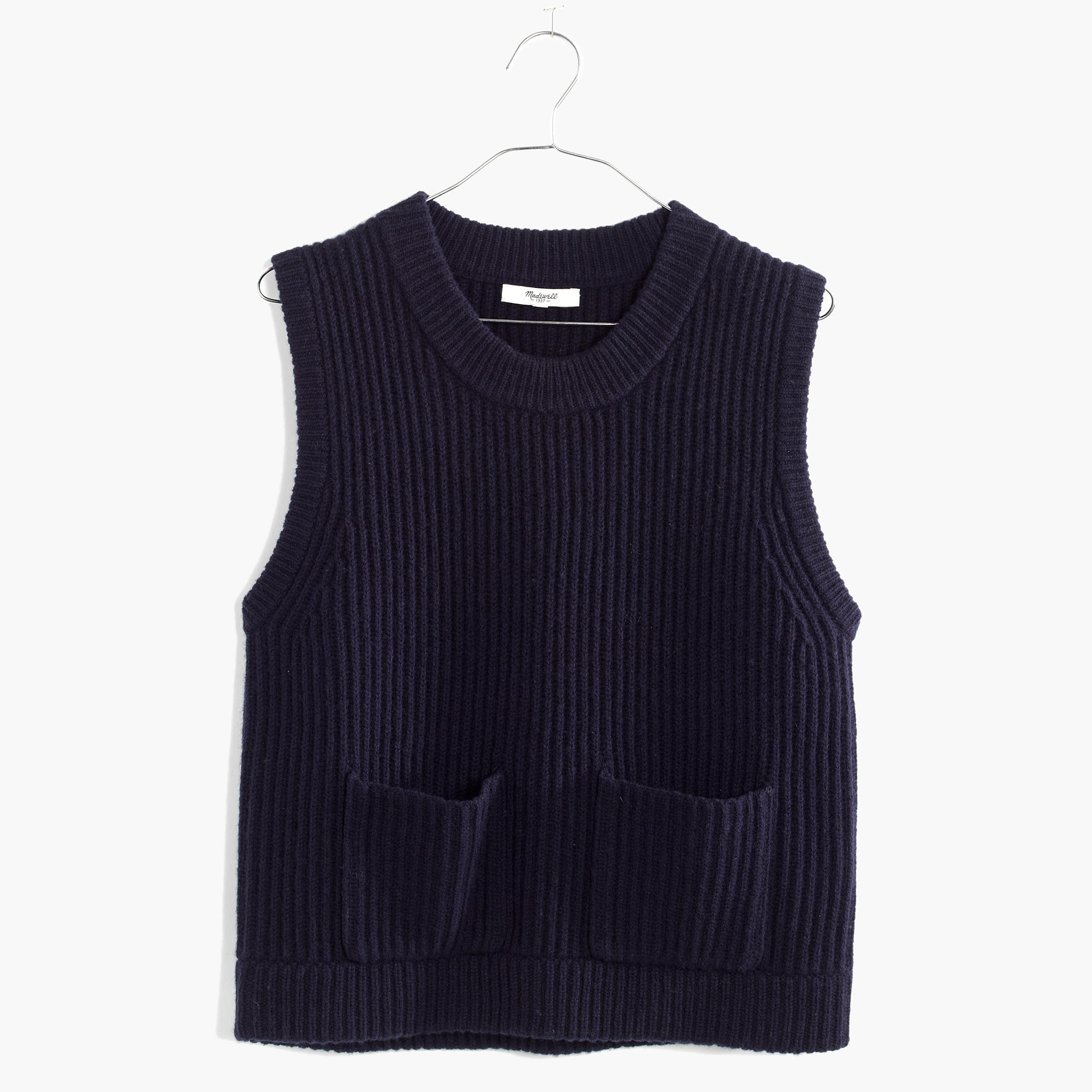 Merino Ribbed Sweater-Vest : shopmadewell pullovers | Madewell