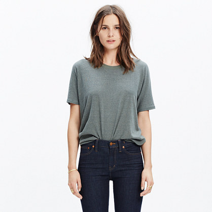 Rivet & Thread Silk-Cotton Noil Tee