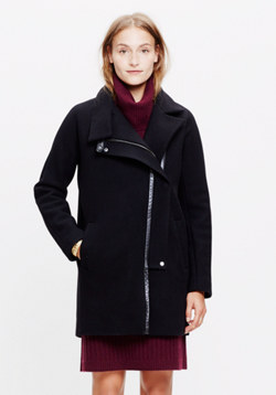 City Grid Coat