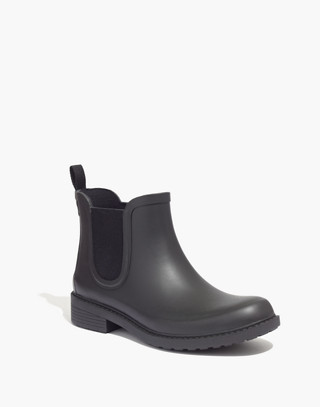 The Chelsea Rain Boot in true black image 3