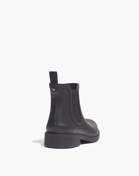 The Chelsea Rain Boot in true black image 4