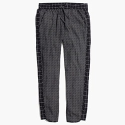 Track Trousers in Graphgrid