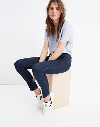 """Taller 8"""" Skinny Jeans in Quincy Wash"""