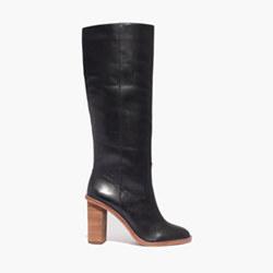 The Tali Boot in True Black