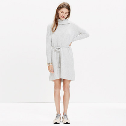Viewpoint Turtleneck Sweater-Dress : casual dresses | Madewell