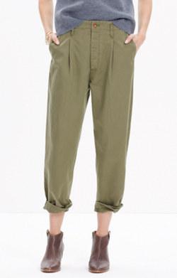 Chimala® Chino Single-Pleated Trousers