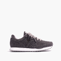 Madewell & Saucony® DXN Trainer Sneakers in Grey Flannel