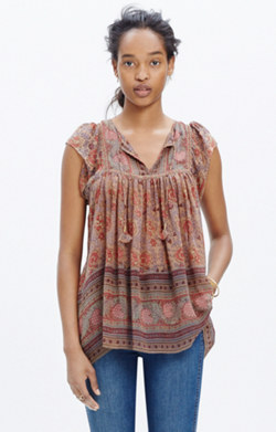 Ulla Johnson™ Silk Kosta Top