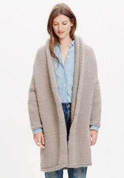 Anaak™ Handknit Sweater-Jacket