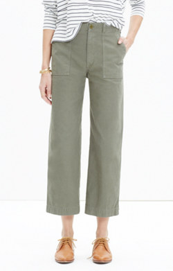Military Culotte Pants