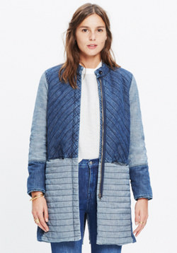 Denim Quilted Jacket
