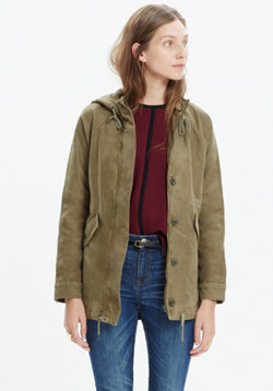 Hooded Brimfield Jacket