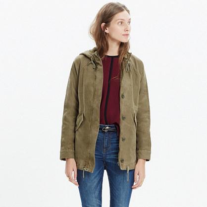 Hooded Brimfield Jacket