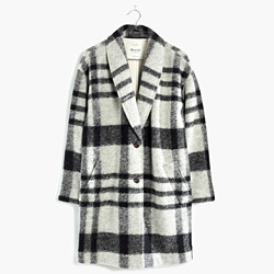 Plaid Florence Coat