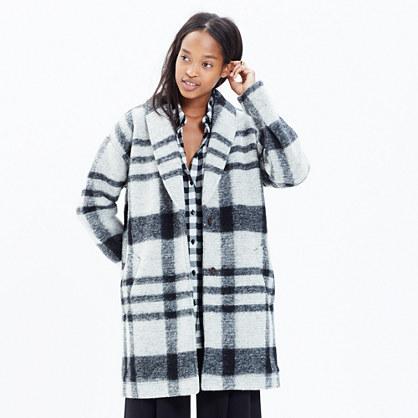 Plaid Florence Coat