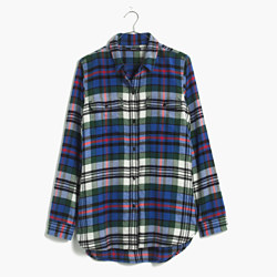 Flannel Ex-Boyfriend Shirt in Larchmont Plaid
