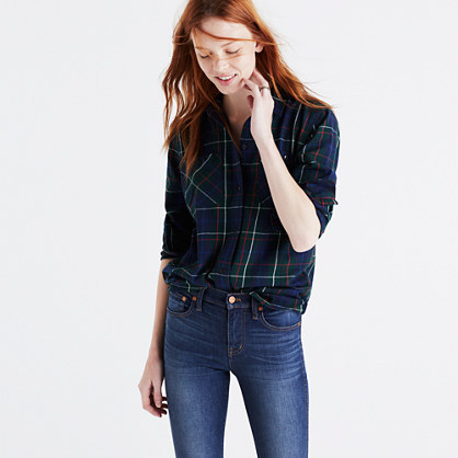 Flannel Ex-Boyfriend Shirt in Ontario Plaid