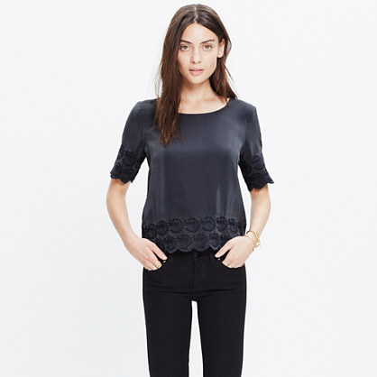 Silk Moondial Top
