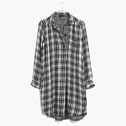Latitude Shirtdress in Kemp Plaid