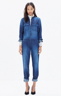 Coverall Zip Jumpsuit